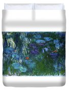 Water Lilies 1918 - Digital Remastered Edition Duvet Cover