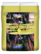 Water Lily 12 Duvet Cover