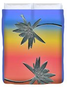Water Lily Duo Duvet Cover