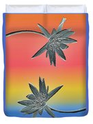 Water Lily Duo Two Duvet Cover