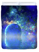Water Planet One Duvet Cover
