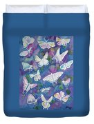 Watercolor - Butterfly Design Duvet Cover