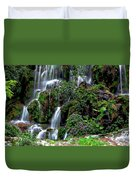 Waterfalls At Seven Star Park Duvet Cover