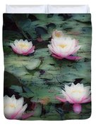 Waterlily Impressions Duvet Cover