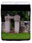 Waterloo Civil War Memorial Duvet Cover