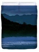 Waves In The Pacific Ocean, Waimea Bay Duvet Cover