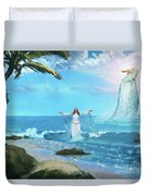 Waves Of Mercy Duvet Cover