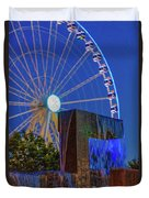 Wealthy At Waterfront Park Duvet Cover