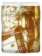 Weathered In Nostalgia Duvet Cover
