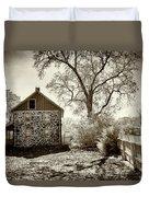 Weikert House At Gettysburg Duvet Cover