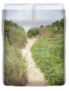 Wellfleet Sand Dunes Duvet Cover