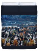 Wenatchee In November Duvet Cover