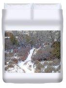 West Dakota January Prairie Duvet Cover
