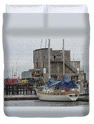 Westport Docks Duvet Cover