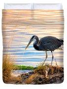 Wheeler Oregon - Great Blue Heron Duvet Cover