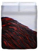 When The Angel Asleep - In Memory Of 2015 Paris Terrorist Attack Duvet Cover by Marianna Mills