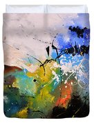 Where The Angels Like To Tread Duvet Cover