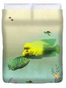 Whimsical Fish Duvet Cover
