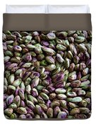 Whirling Pistachios Duvet Cover