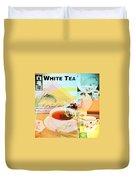 White Tea Blend  Duvet Cover