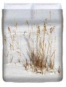 Whitehorse Winter Landscape Duvet Cover