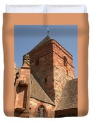 Whitekirk 12th Century Church Tower In East Lothian Duvet Cover