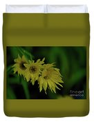 Wild Sunflowers In The Wind Duvet Cover