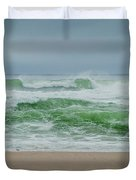 Wild Waves Duvet Cover by Judy Hall-Folde