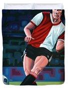 Willem Van Hanegem Painting Duvet Cover