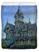 William Carson Mansion Duvet Cover by Thom Zehrfeld