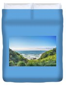 Wind And Waves Duvet Cover