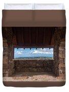 Window View - Ccc Lookout- Cedar Breaks - Utah Duvet Cover