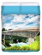 Windsor Cornish Bridge Duvet Cover
