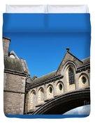 Winetavern Street Arch Duvet Cover