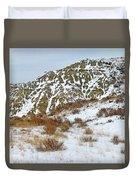 Winter Badlands Duvet Cover