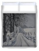 Winter Lane Duvet Cover