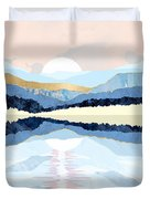 Winter Reflection Duvet Cover