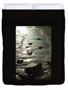 Winter Sun On The Tide Duvet Cover