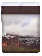 Winter's Blanket Duvet Cover by Rick Furmanek