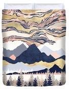 Winter's Sky Duvet Cover