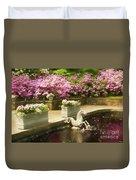 Winterthur Spring Pond Duvet Cover