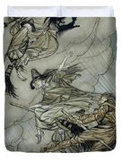 Witches, 1907 Duvet Cover