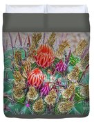 Withering Beauty Duvet Cover