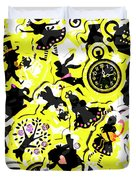 Wonderland Design Duvet Cover
