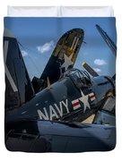 Ww2 F4u Corsair  Duvet Cover