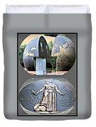 World War 2 Memorial Savannah Duvet Cover