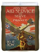 Www1 Join And Serve  Duvet Cover
