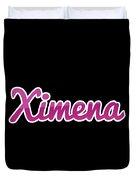 Ximena #ximena Duvet Cover