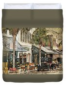Ybor City Movie Set Duvet Cover