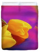 Yellow Tulips 2 Duvet Cover